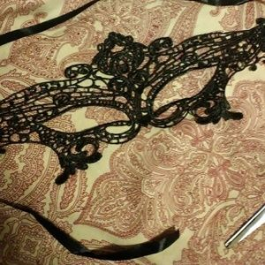Other - Black Lace Masquerade Elegant Party Mask BDSM Life